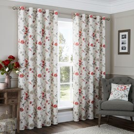 Anya Ready Made Eyelet Lined Curtains