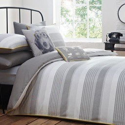 Racing Green Cambridge Stripe Bedding