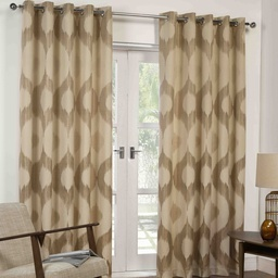 Delta Ready Made Lined Eyelet Curtains
