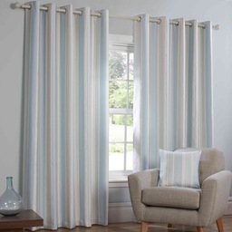 Monaco Ready Made Lined Eyelet Curtains