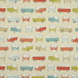 VW Campervan Curtain Fabric