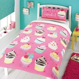 Sweet As A Cupcake Bedding