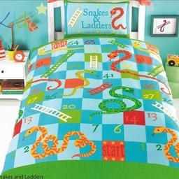 Snakes And Ladders Bedding