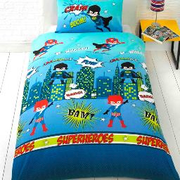 Super Heros Bedding