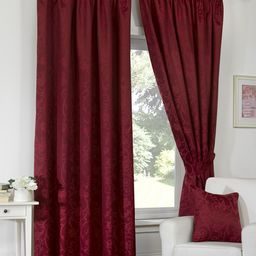 Turin Jacquard Lined Ready Made Curtains