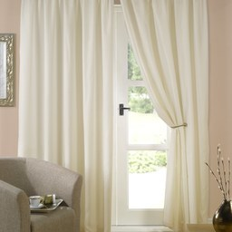 Evie Ready Made Lined Voile Curtains