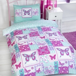 Butterfly Single Bedding Set