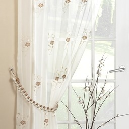 Pearls Voile Panel