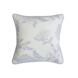 Holly Willoughby Rene Blue Feather Filled Cushion