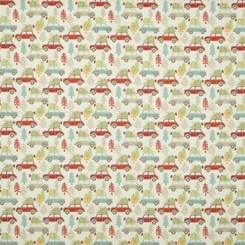 Driving Home Curtain Fabric