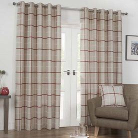 Kendal Ready Made Lined Eyelet Curtains