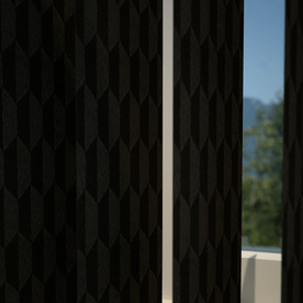 Geo Vertical Blind