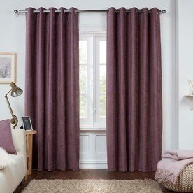 Dante Ready Made Lined Eyelet Curtains