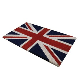 Union Flag PVC Coir Doormat