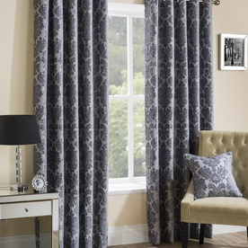 Park Lane Ready Made Lined Eyelet Curtains