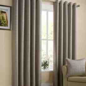 Lyon Ready Made Lined Eyelet Curtains