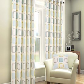 Rezzo Ready Made Lined Eyelet Curtains