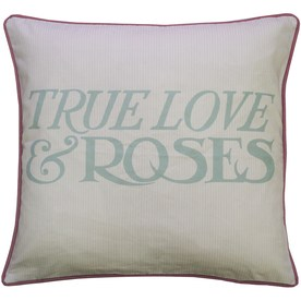 Emma Bridgewater Striped Rose Filled Cushion