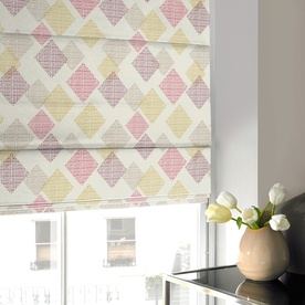 Diamond Roman Blind