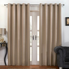 Carbon Thermal Blackout Ready Made Eyelet Curtains