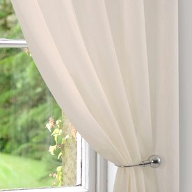Fineweave Voile Curtain Panel