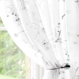 Wildflower Voile Curtain Panel