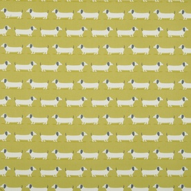 Hound Dog Curtain Fabric