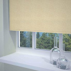 Textured Linen Ready Made Daylight Roller Blind
