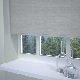 Textured Stripe Ready Made Blackout Roller Blind