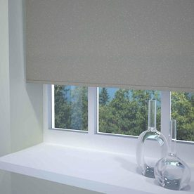 Textured Sparkle Ready Made Blackout Roller Blind