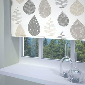Leaf Ready Made Blackout Roller Blind