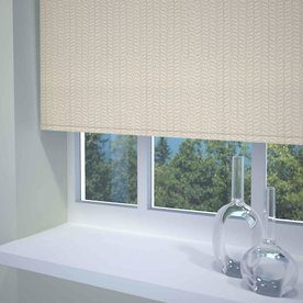 Knitted Texture Ready Made Blackout Roller Blind