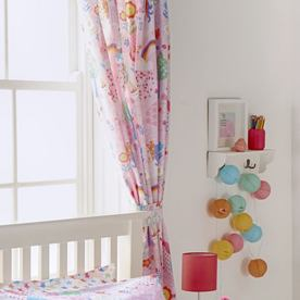 Unicorn Ready Made Lined Curtains 66'' x 72''