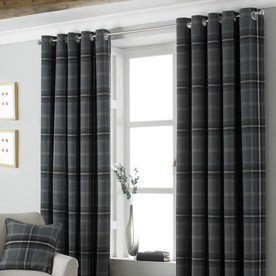 Aviemore Ready Made Lined Eyelet Curtains