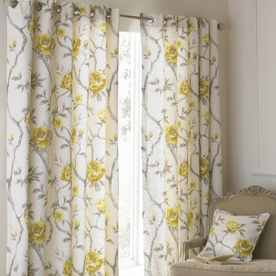 Rosemoor Ready Made Lined Eyelet Curtains