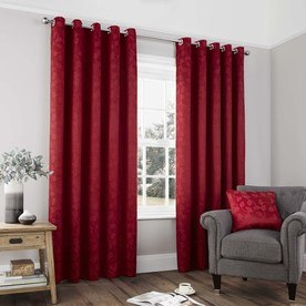 Carrington Ready Made Lined Eyelet Curtains