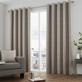 Camberwell Ready Made Lined Eyelet Curtains