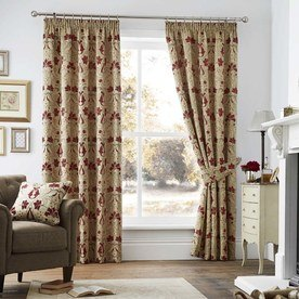 Burford Luxury Ready Made Fully Lined Curtains