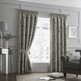 Andria Luxury Ready Made Lined Curtains