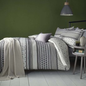 Retrace Stripe Bedding Set