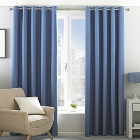 Eclipse Ready Made Blackout Eyelet Curtains
