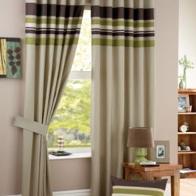 Harvard Eyelet Ready Made Curtain