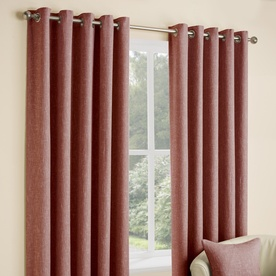 Huxley Ready Made Lined Eyelet Curtains