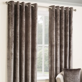 Opulence Ready Made Lined Eyelet Curtains