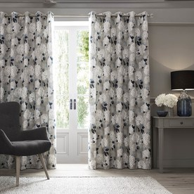 Isabelle Ready Made Lined Eyelet Curtains