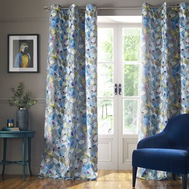 Shola Ready Made Lined Eyelet Curtains