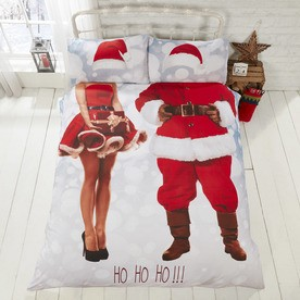 Selfie Santa Bedding Set