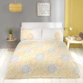 Scandi Sunflower Bedding Set