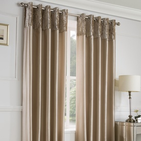 Alexia Ready Made Lined Eyelet Curtains