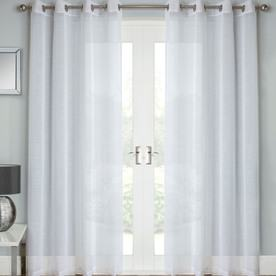 Jazz Ready Made Eyelet Voile Panel